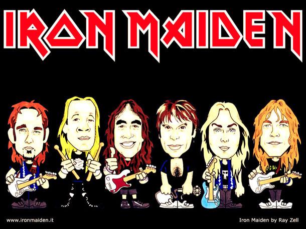 Iron Maiden Em São Paulo E Curitiba