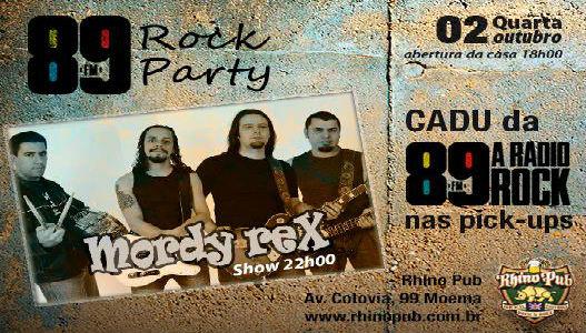 89 Rock Party no Rhino Club