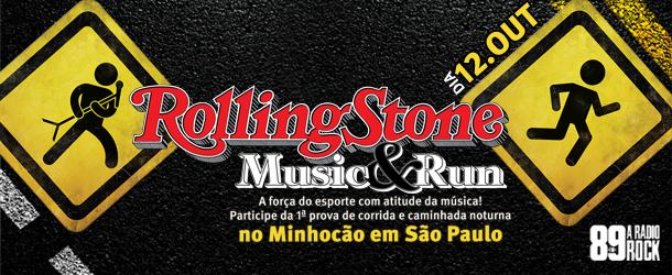 Rolling Stone Music & Run: desafio rock para o sábado