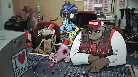 Novo som do Gorillaz é instrumental