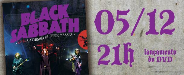 Festa do novo DVD do Black Sabbath