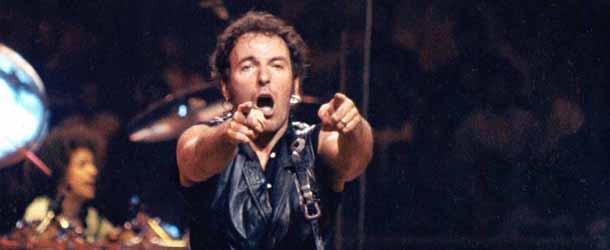 Bruce Springsteen no topo da parada britânica