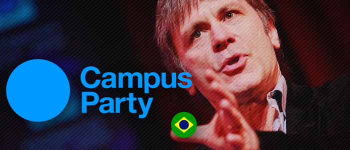 Bruce Dickinson é destaque hoje na Campus Party