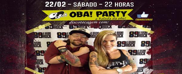 Oba! Party com Thiago DJ e Luka