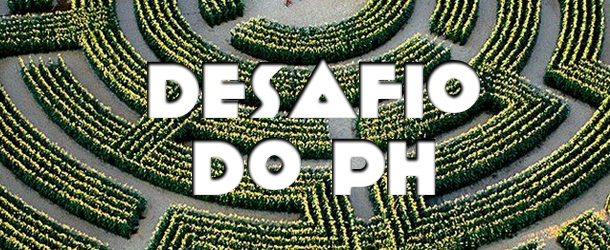 Desafio do PH de 11 de novembro