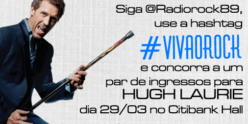 Promo Hugh Laurie no Twitter