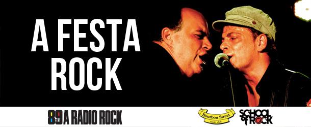 Festa Rock no Bourbon terá Rodrigo Santos do Barão Vermelho