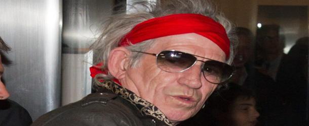 Keith Richards prepara lançamento de livro