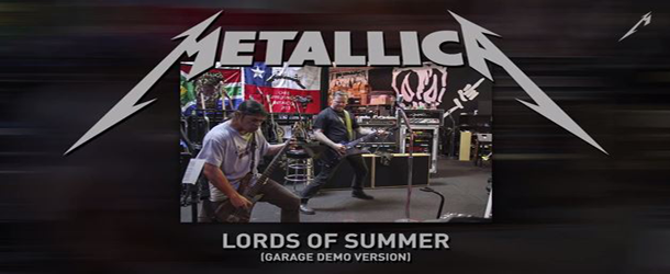 "Metallica disponibiliza áudio de ""The Lords Os Summer"""