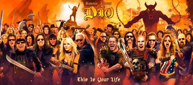 Vaza a primeira cover do álbum tributo a Ronnie James Dio