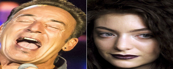 Bruce Springsteen toca cover de Lorde