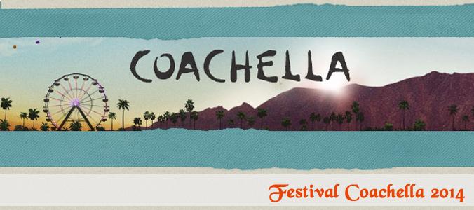 Veja Coachella via webcast neste FDS