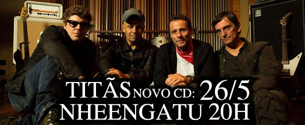 Titãs apresentam ao vivo novo disco na 89