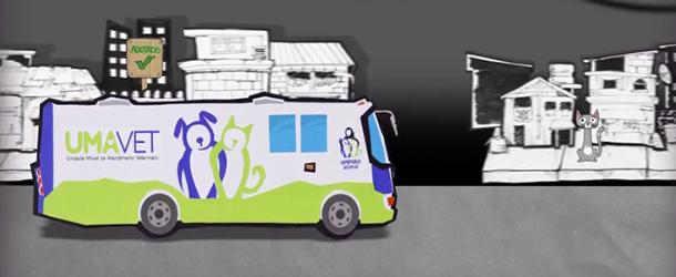 Participe da campanha pelo ambulatório móvel de atendimento veterinário