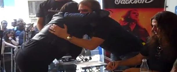 Meet & Greet grátis com Megadeth: fãs podem encostar