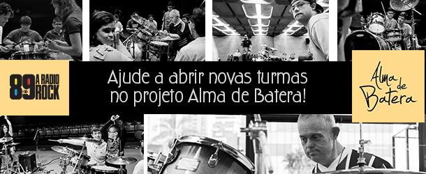 """Participe da ação de crowdfunding do """"Alma de Batera"""""""