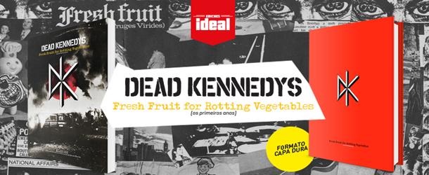 Chega ao Brasil livro do Dead Kennedys