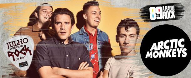 Ganhador par de convites para curtir Arctic Monkeys