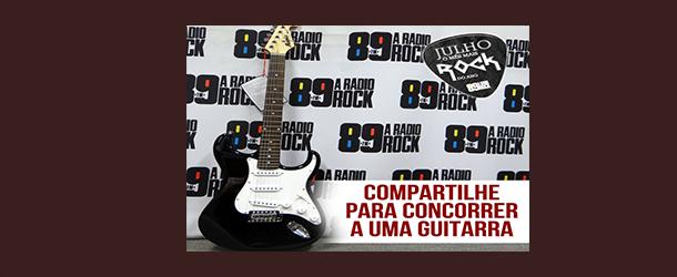 Resultado Guitarra Dia Mundial do Rock