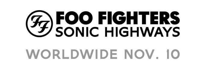 """Sonic Highways"" é o novo álbum do Foo Fighters que chega em novembro"