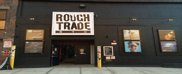 Rough Trade, a maior loja de discos de NY