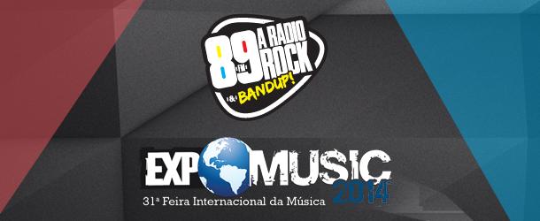 Visite a Loja 89 na Expomusic e concorra a instrumentos musicais