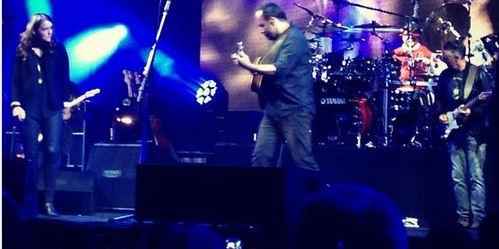Guitarrista do Pearl Jam toca com Dave Mathews Band