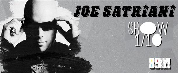 Joe Satriani volta ao Brasil