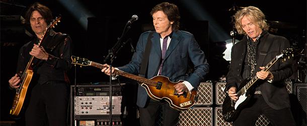 Paul McCartney traz Beatles e chuva para São Paulo