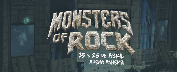 Monsters Of Rock é confirmado para abril de 2015