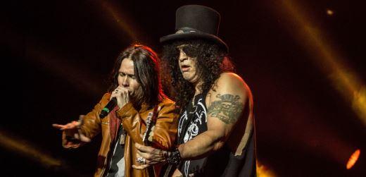 Slash com Myles Kennedy & The Conspirators deixam Guns N`Roses de lado no Lollapalooza