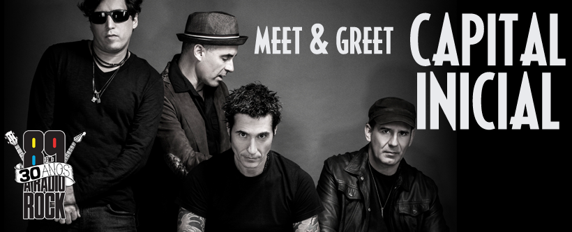 Meet & Greet com Capital Inicial