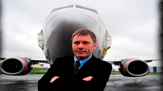 Bruce Dickinson lança sua própria empresa aérea