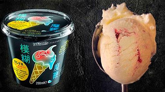 Promoção do Blur: compre sorvete e ganhe uma música