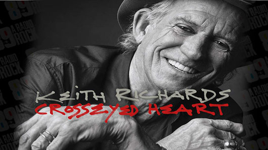 Keith Richards libera segundo single de seu novo disco