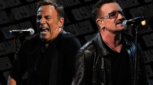 U2 encerra turnê norte-americana cantando com Bruce Springsteen