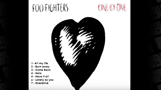 "Primeira versão do disco ""One By One"" do Foo Fighters é disponibilizada na web"