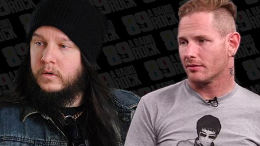 Corey Taylor nega ter escrito música sobre Joey Jordison