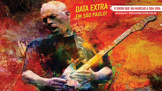 Iniciadas as venda de ingressos para show extra de David Gilmour em SP