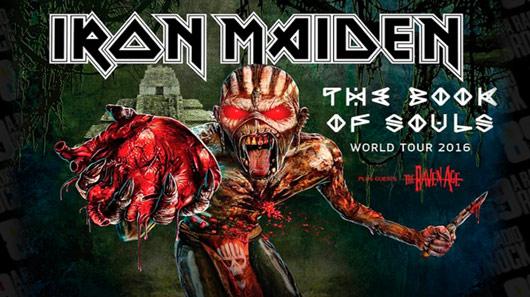 "Iron Maiden agradece aos fãs pela turnê ""The Book of Souls"""