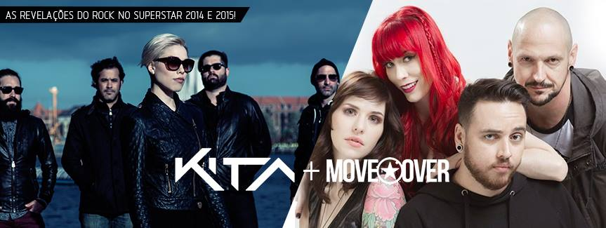 Kita e Move Over no Teatro Mars