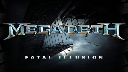 "Ouça novo single do Megadeth, ""Fatal Illusion"""