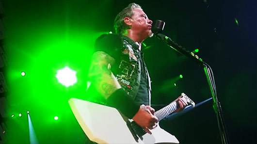 Metallica divulga vídeo de backstage no Canadá