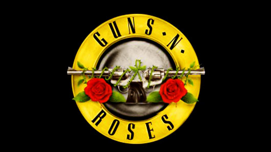 Antigo logo do Guns N´Roses volta a estampar site oficial da banda