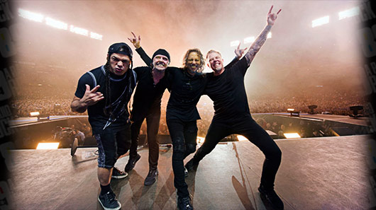 Veja performance do Metallica na TV americana