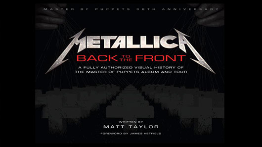 "Metallica libera vídeo sobre o livro ""Back To The Front"""