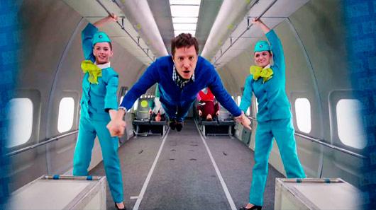Ok Go: clipe feito em uma única tomada e em gravidade zero