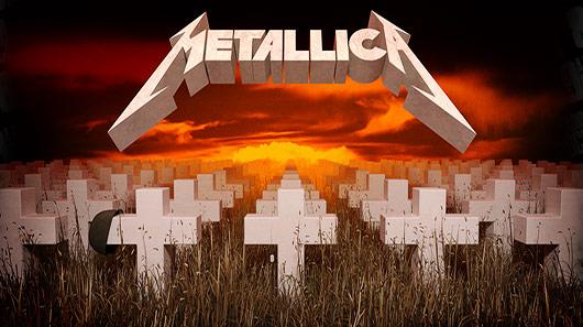 "30 anos do álbum ""Master Of Puppets"", do Metallica"