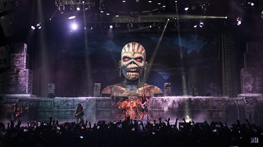 Iron Maiden transmitirá show via internet