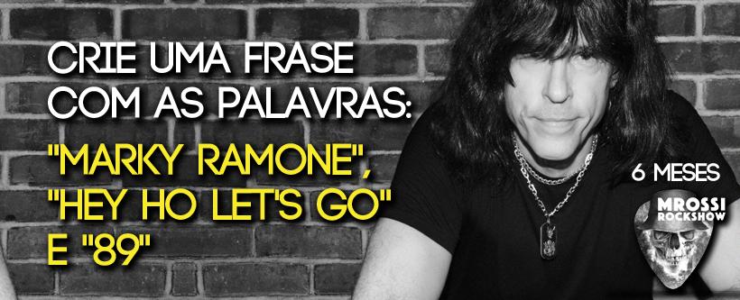 """Promo """"Show fechado do Marky Ramone"""""""